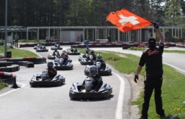 La suite de nos activités: Karting-Broche !